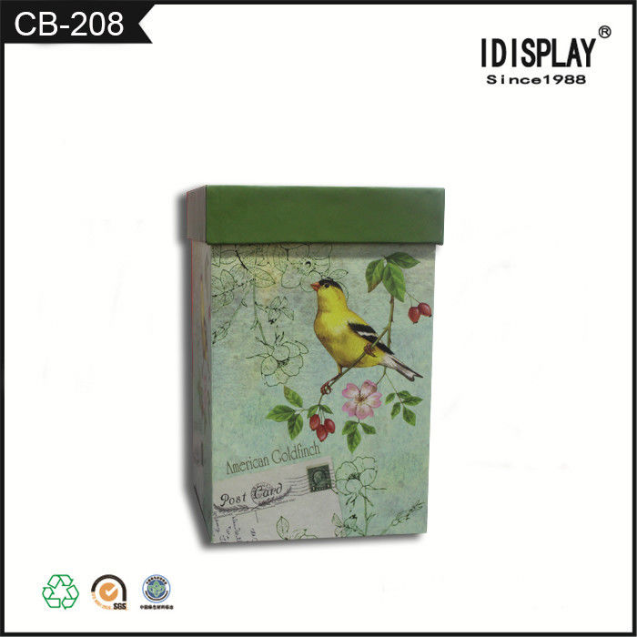 Printed Corrugated Colored Gift Boxes Notebook Packing With Customized Logo